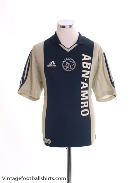 buy online 18152 9b2c9 2001-02 Ajax Away Shirt XL for sale