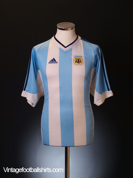 2001-02 Argentina Home Shirt L