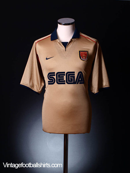 super popular 81623 b4aed 2001-02 Arsenal Away Shirt M for sale