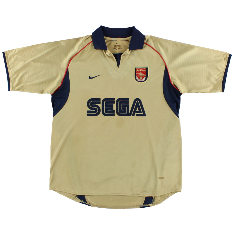 2001-02 Arsenal Nike Away Shirt L