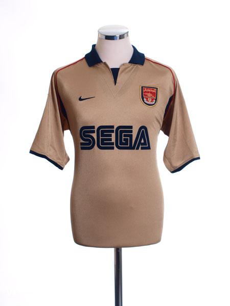 2001-02 Arsenal Away Shirt L