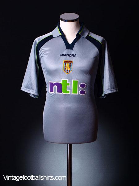 2001-02 Aston Villa Away Shirt XL
