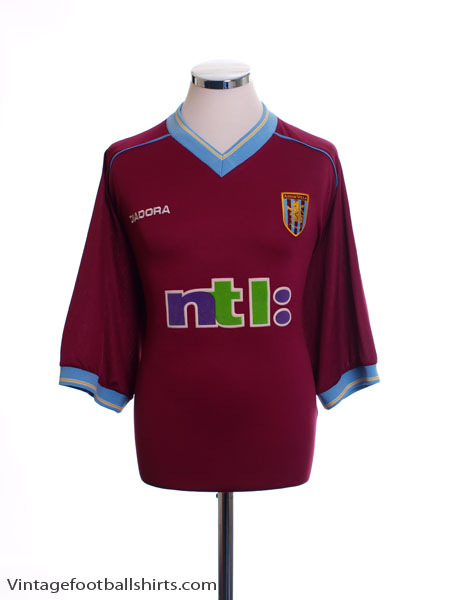 2001-02 Aston Villa Home Shirt *Mint* S