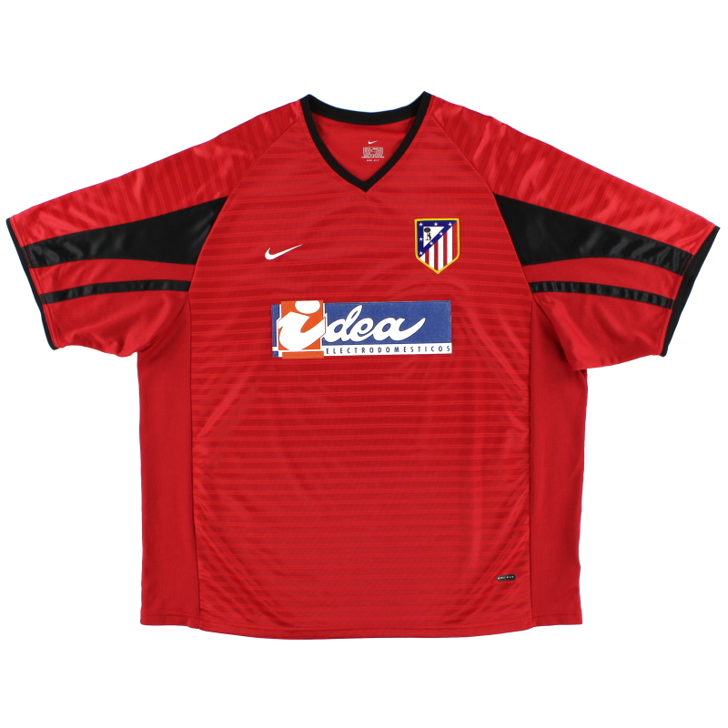 2001-02 Atletico Madrid Nike Away Shirt L