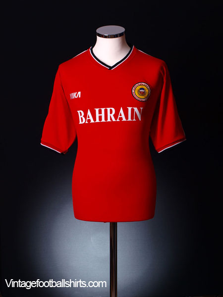 2001-02 Bahrain Home Shirt XL