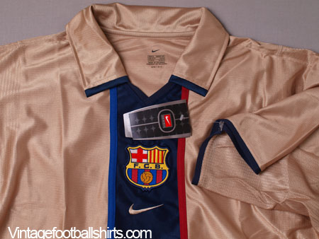 hot sale online 0ad95 0e65c 2001-02 Barcelona Away Shirt *BNWT* XL for sale