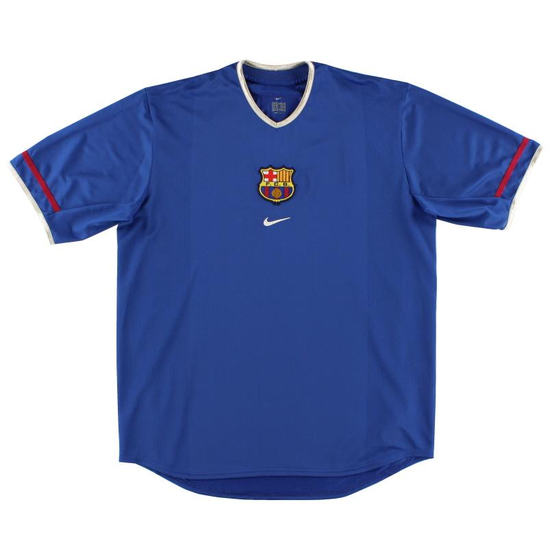 2001-02 Barcelona Third Shirt XL