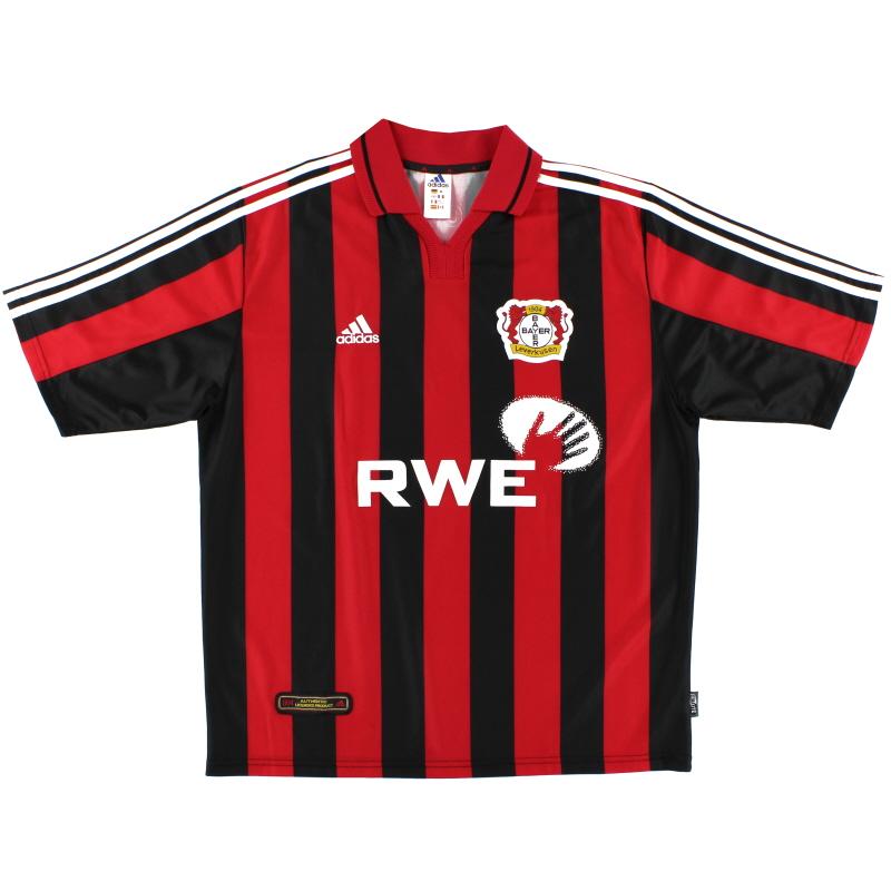 2001-02 Bayer Leverkusen Home Shirt *Mint* XL