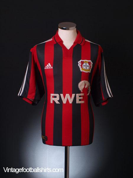 2001-02 Bayer Leverkusen Home Shirt L