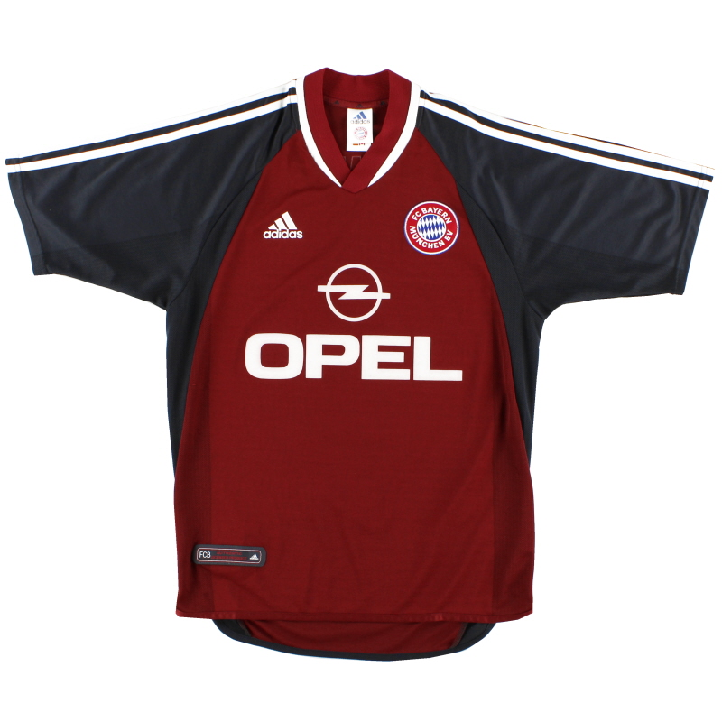 2001-02 Bayern Munich adidas Home Shirt XL - 694721