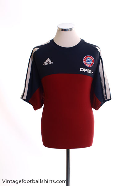 2001-02 Bayern Munich Training Shirt L