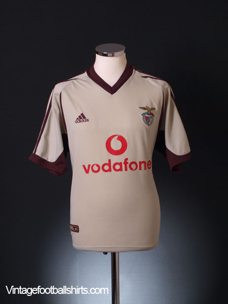 2001-02 Benfica Away Shirt L