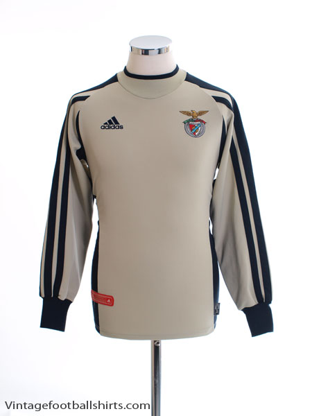quality design 45194 68f05 2001-02 Benfica Goalkeeper Shirt Y for sale