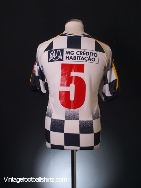 2001-02 Boavista Home Shirt #5 XL
