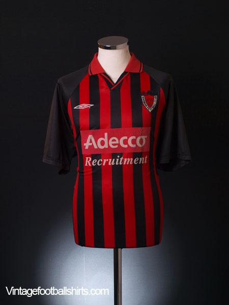 2001-02 Bohemian FC Home Shirt L