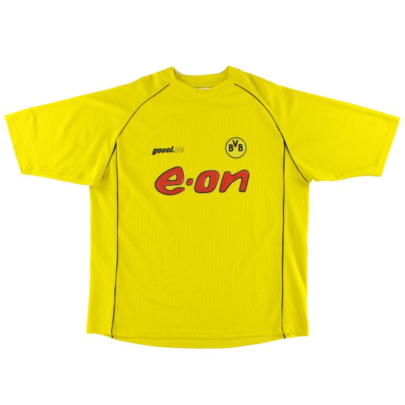 2001-02 Borussia Dortmund European Home Shirt XL