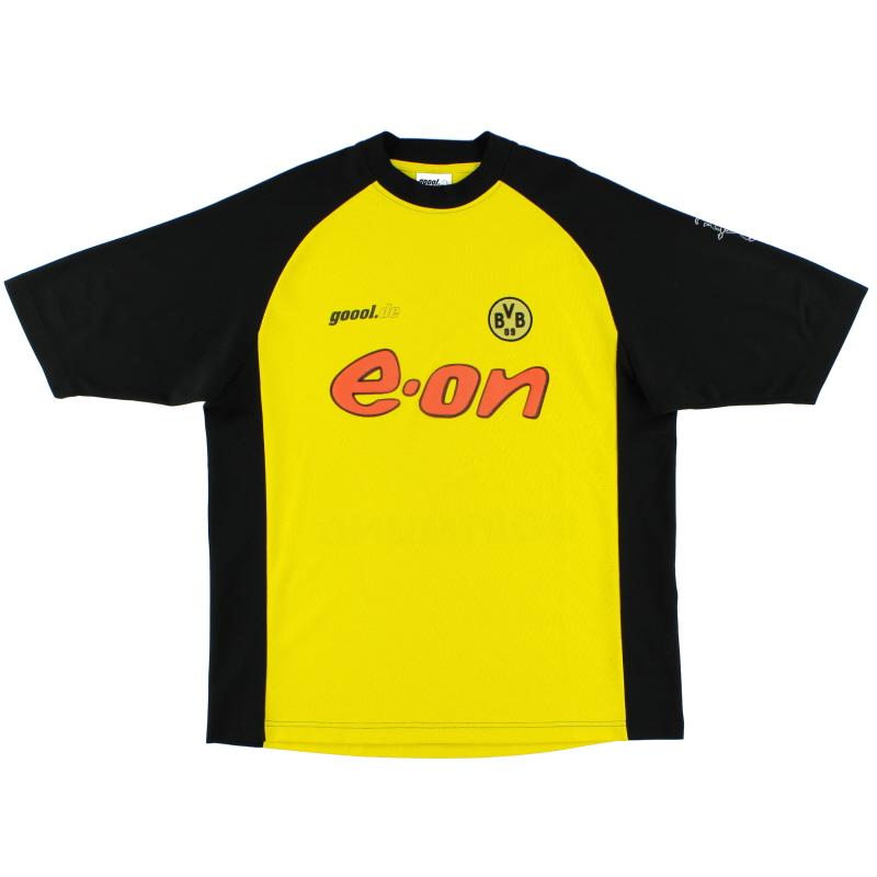 2001-02 Borussia Dortmund Home Shirt L