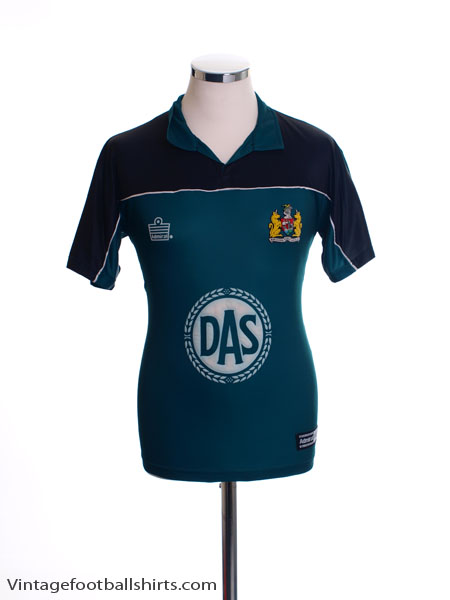 2001-02 Bristol City Away Shirt XS