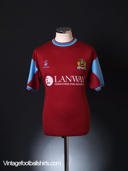 2001-02 Burnley Home Shirt M