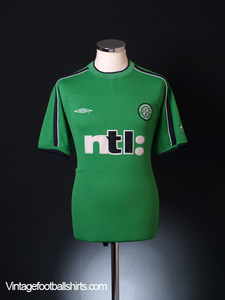meet 32022 0970c 2001-02 Celtic Umbro Training Shirt M for sale