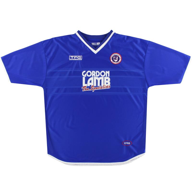 2001-02 Chesterfield Home Shirt XL