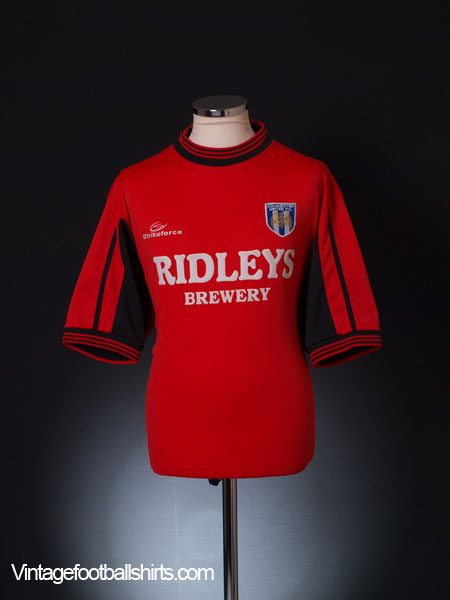 2001-02 Colchester Away Shirt L