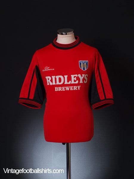 2001-02 Colchester Away Shirt L
