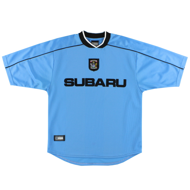 2001-02 Coventry CCFC Home Shirt S