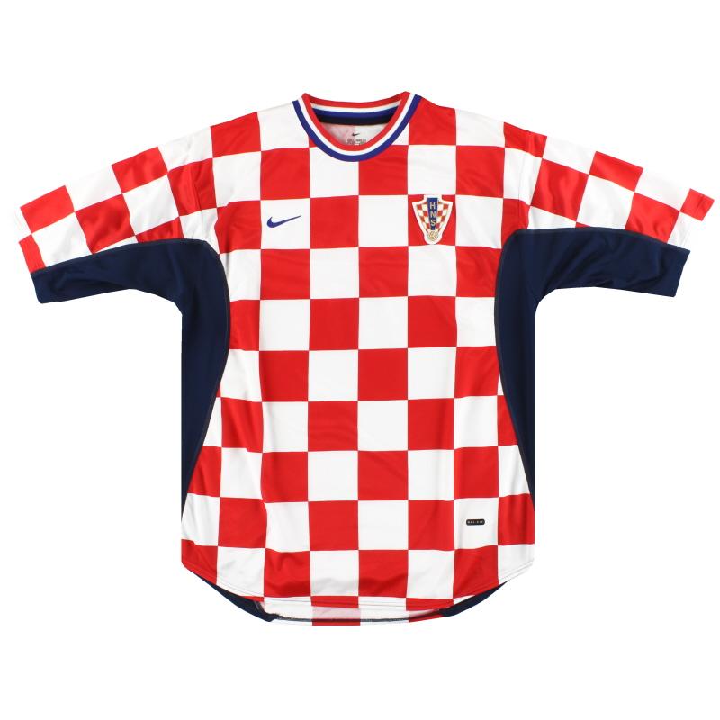 2001-02 Croatia Nike Home Shirt XL