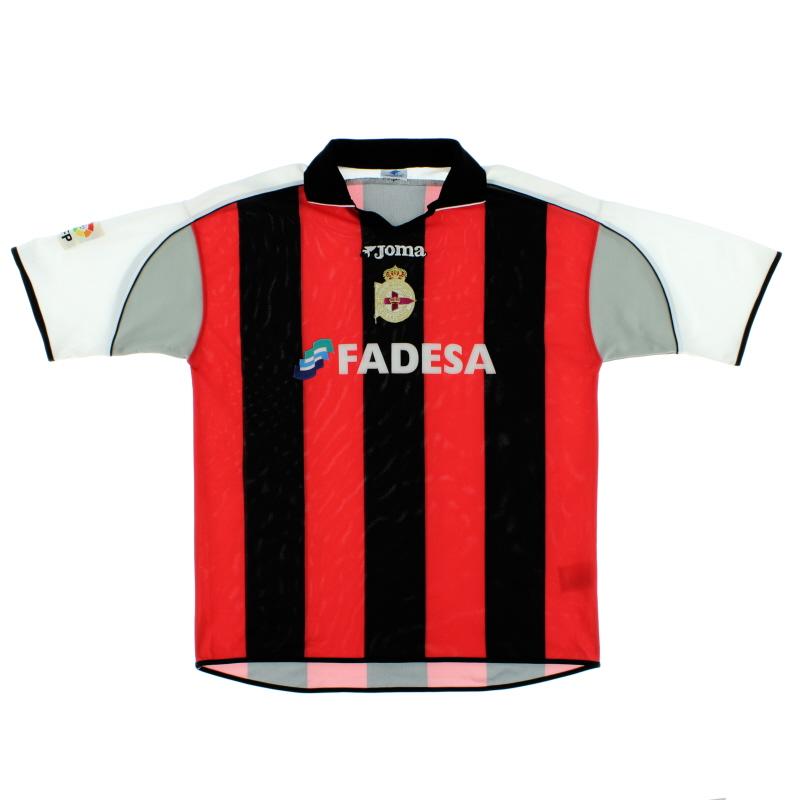 2001-02 Deportivo Away Shirt XL