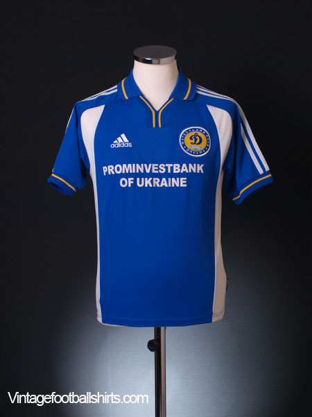 2001-02 Dynamo Kiev Away Shirt Y