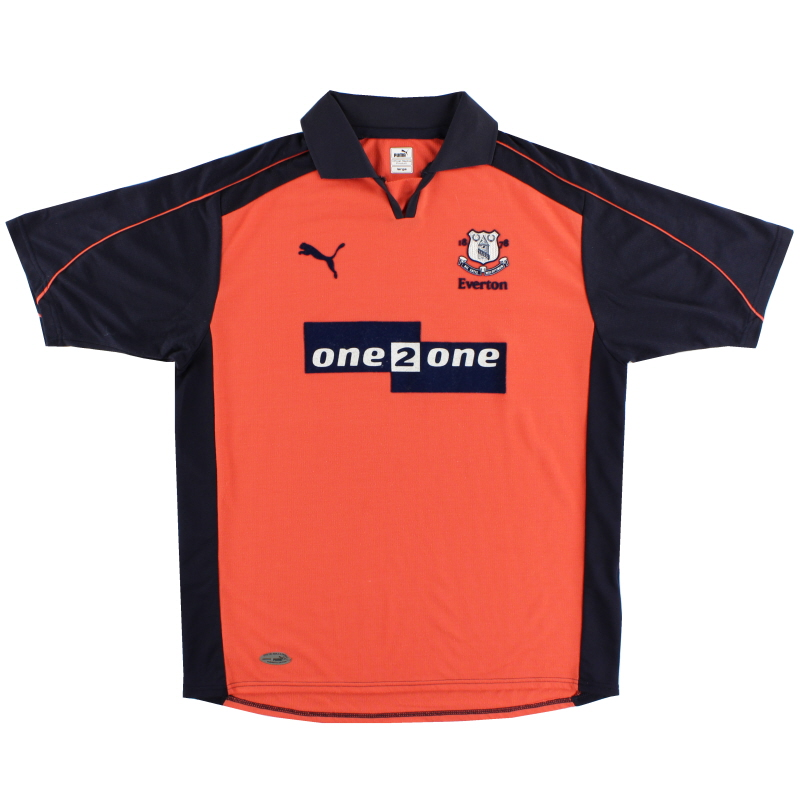 2001-02 Everton Third Shirt L