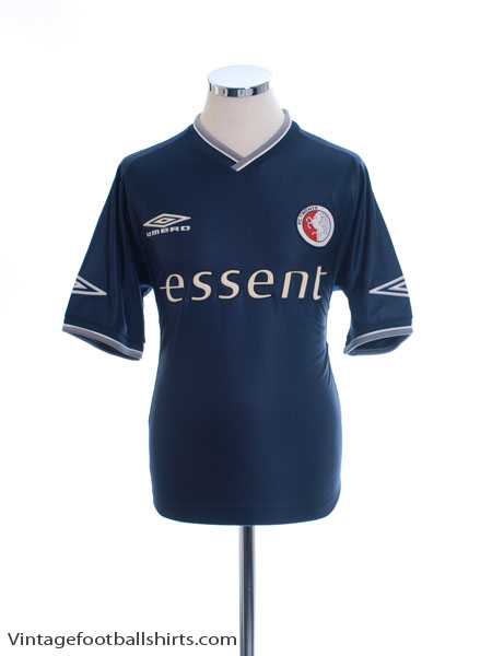 2001-02 FC Twente Away Shirt M