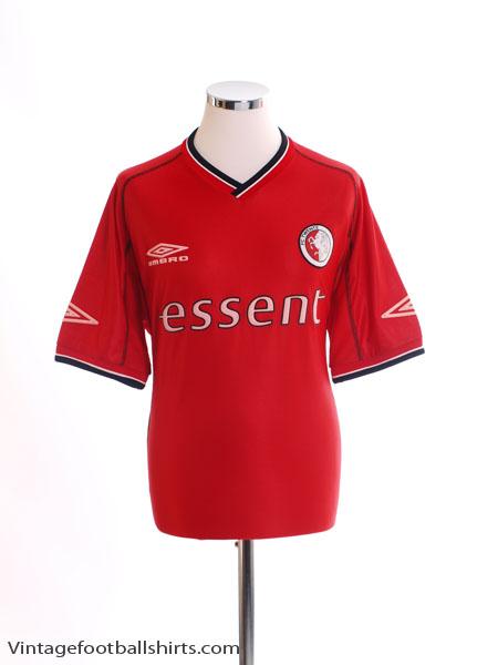2001-02 FC Twente Home Shirt XL