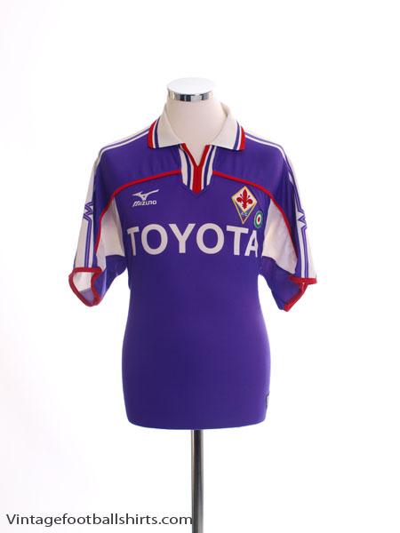 2001-02 Fiorentina Home Shirt L
