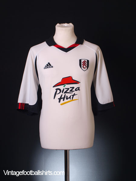 2001-02 Fulham Home Shirt XL