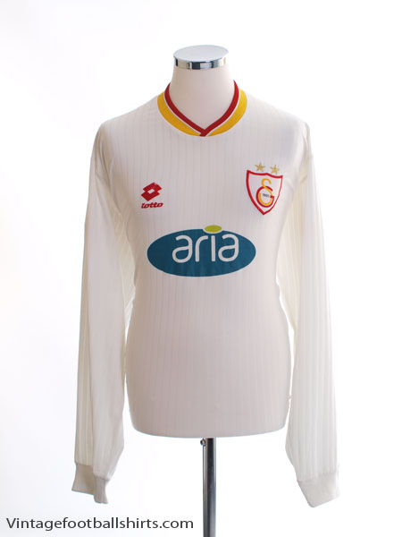 2001-02 Galatasaray Away Shirt L/S XL