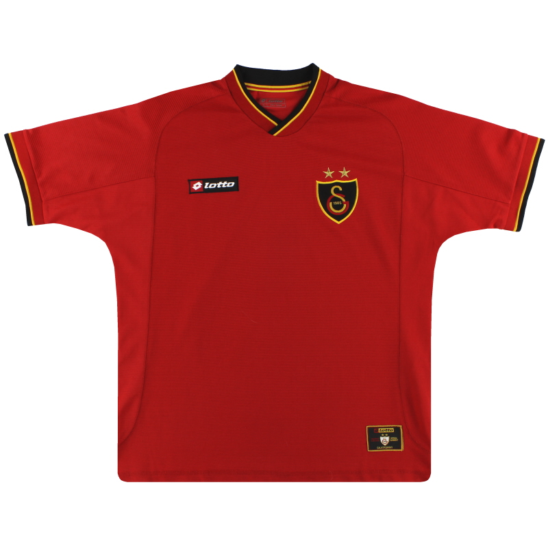 2001-02 Galatasaray Lotto Third Shirt XXL