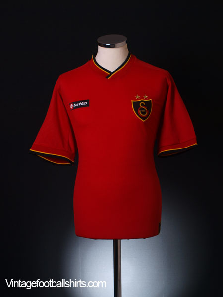 2001-02 Galatasaray Third Shirt XL