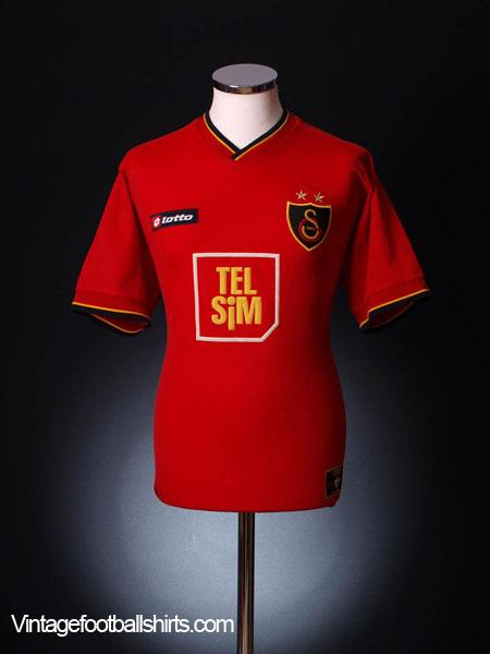 2001-02 Galatasaray Third Shirt XS