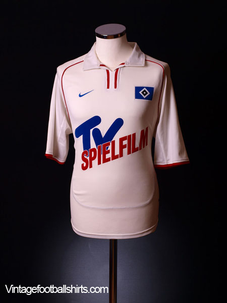 2001-02 Hamburg Home Shirt XL