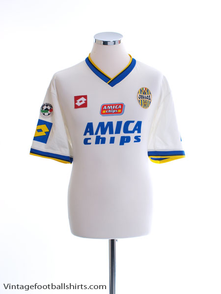 2001-02 Hellas Verona Away Shirt XXL