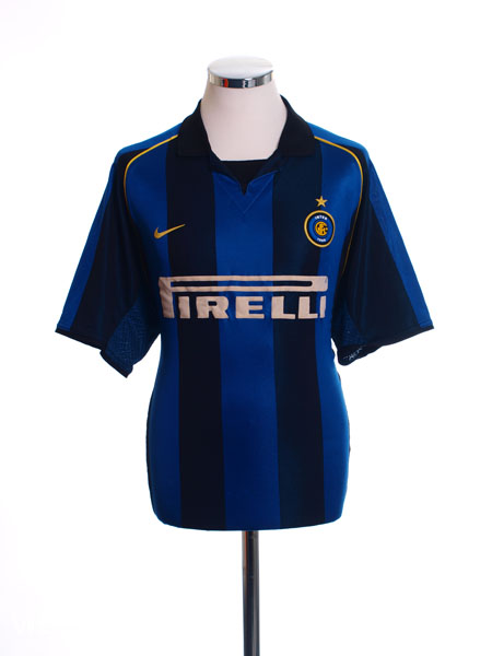 2001-02 Inter Milan Home Shirt L