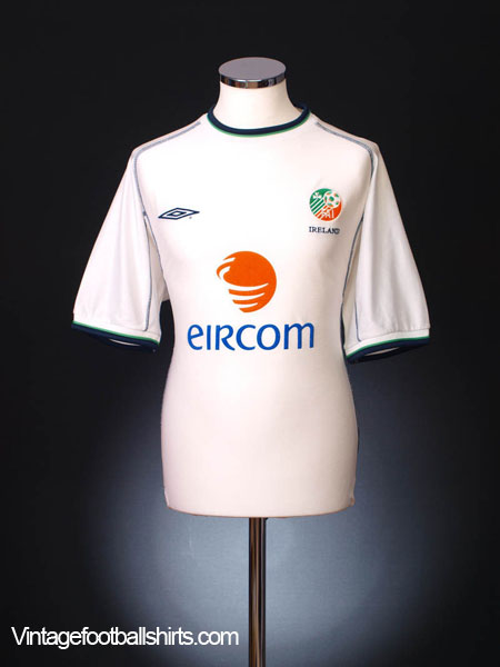 2001-02 Ireland Away Shirt M