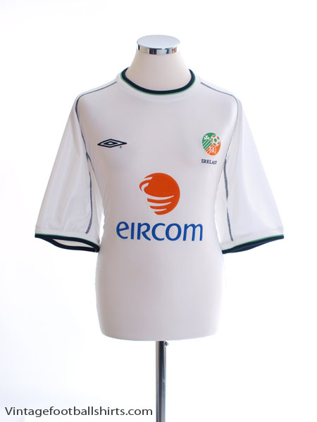 2001-02 Ireland Away Shirt XL
