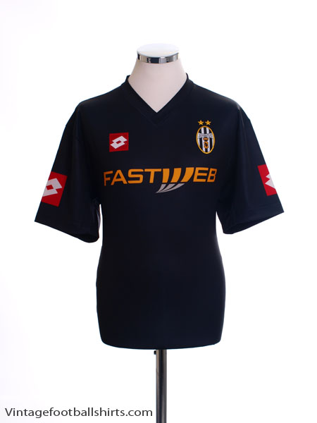 4d5dd6e6fef 2001-02 Juventus Away Shirt XXL for sale