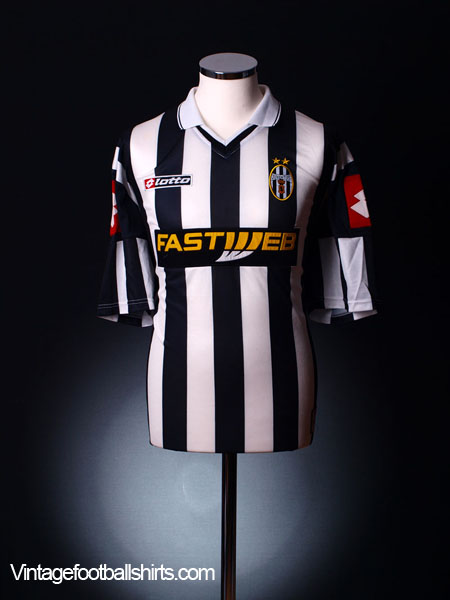 2001-02 Juventus Home Shirt *As New* XL