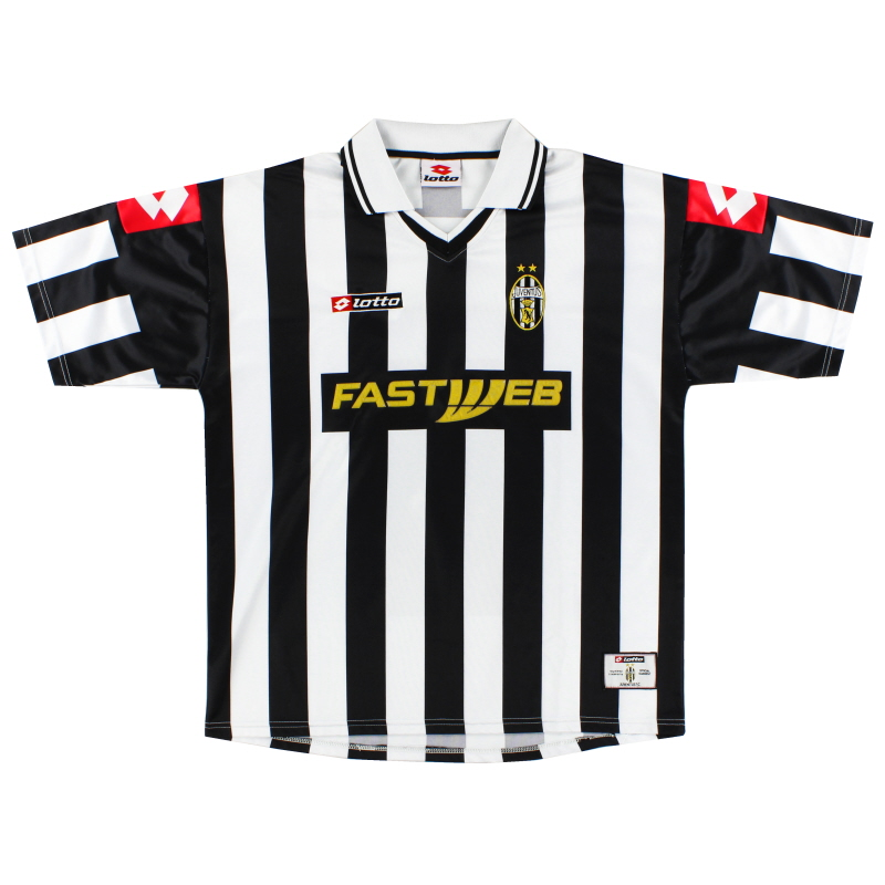 2001-02 Juventus Home Shirt XL