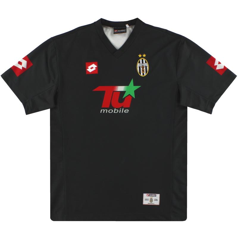 2001-02 Juventus Lotto CL Away Shirt XL