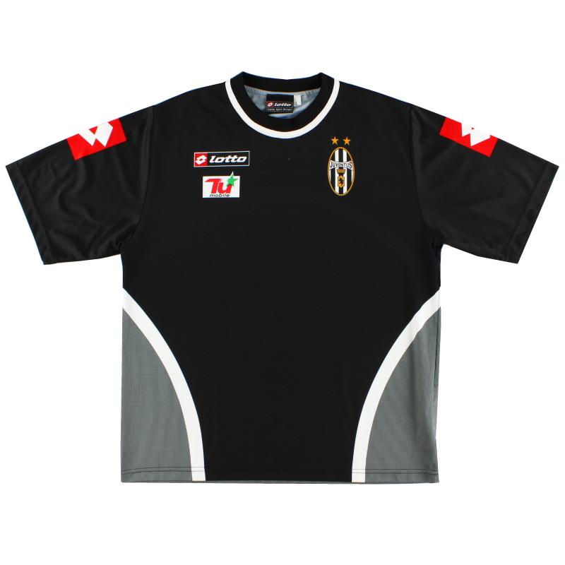 2001-02 Juventus Lotto Training Shirt L